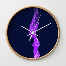 Intention of  silence Wall Clock