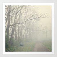 fog Art Prints featuring Fog by Laura Ruth