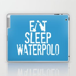 Eat sleep waterpolo Laptop & iPad Skin