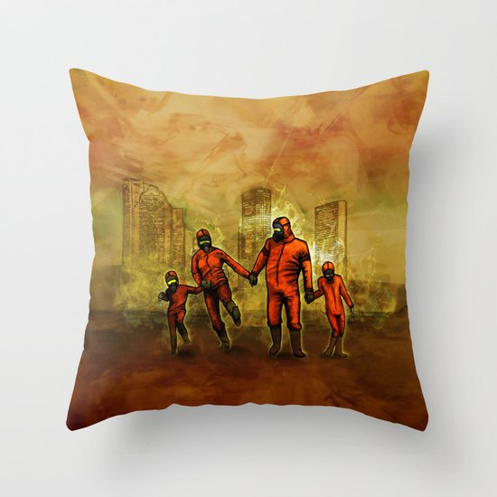 Smoglifter Throw Pillow