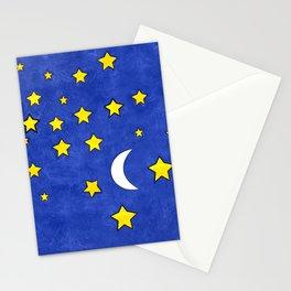 Night Stars Stationery Cards