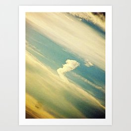 Placid Windings Art Print