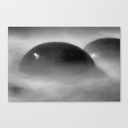 Oh Balls Bowling Ball Beach Northern California Canvas Print