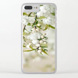 WHITE BEAUTY1 Clear iPhone Case