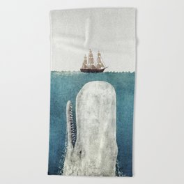 The White Whale Beach Towel