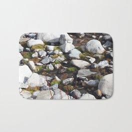 Mossy Rocks Bath Mat