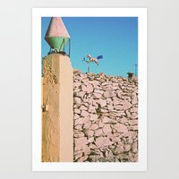 Take the weather with you Art Print