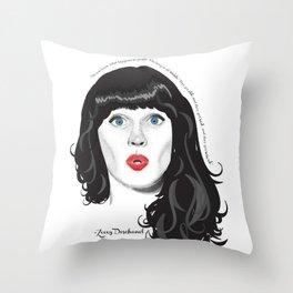Zooey Throw Pillow