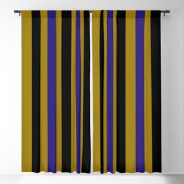 Baltimore Football Team Colors Blackout Curtain