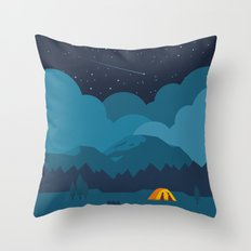 On The night Like This Throw Pillow