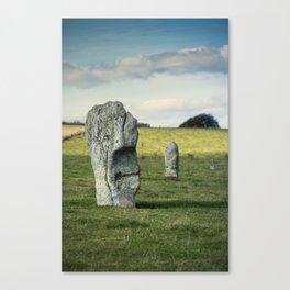 Avebury Stones Canvas Print
