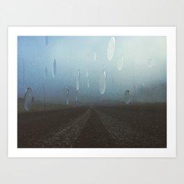 rain bots Art Print