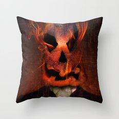 Jack Scratch Throw Pillow