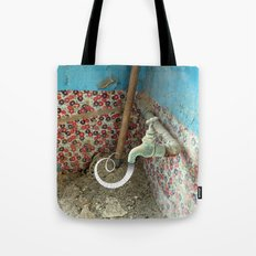 Inspiration is Flowing Tote Bag
