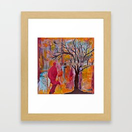 Finding My Way (The Path to Self Discovery/Actualization) Framed Art Print