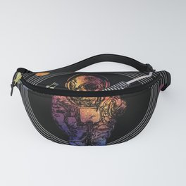 Musical Solar System Fanny Pack