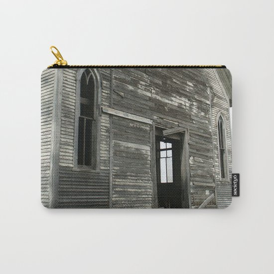 Abandoned Church Carry-All Pouch