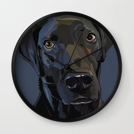 Jeb Lab Dog Wall Clock