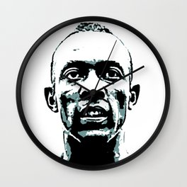 "James Cleveland ""Jesse"" Owens - Gold Medalist 1936 - BLM Wall Clock"