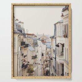 Montmartre Mon Amour - Paris Photography Serving Tray