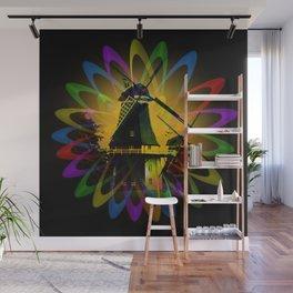 Windmills - Greetsiel Wall Mural