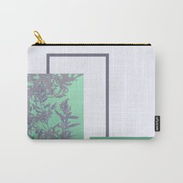 Violet Foliage #society6 #spring Carry-All Pouch
