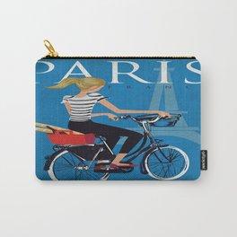 Vintage poster - Paris Carry-All Pouch