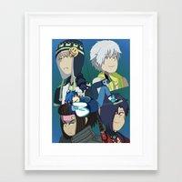 dmmd Framed Art Prints featuring DMMD by timehwimeh