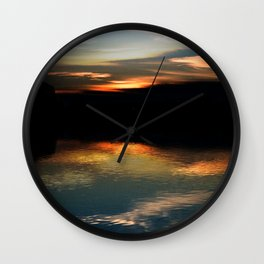 Concept : Water reflection Wall Clock
