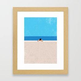 Pool 4 Framed Art Print