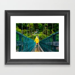 Fundy Footpath Framed Art Print