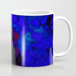 A dark blue crash Coffee Mug