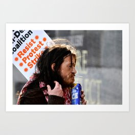 The Resistance Art Print