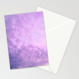 Purple Island Skies Stationery Cards