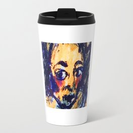 Red Cheeks Woman Travel Mug