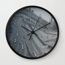 Plaza Zocalo, Mexico-city Wall Clock
