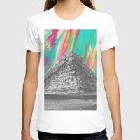 aztec T-shirts featuring Aztec by Cale potts Art