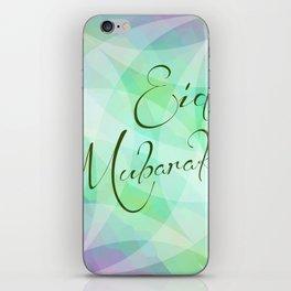 Eid Greeting Card iPhone Skin