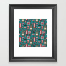 Maybe it's because I'm a Londoner Framed Art Print