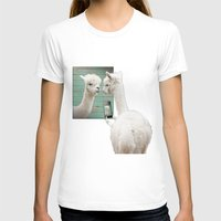 selfie T-shirts featuring SELFIE by Monika Strigel