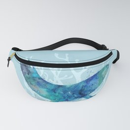 Mystical Whale Fanny Pack