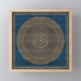 FILIGRANE 2 Framed Mini Art Print