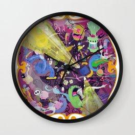 Lisergic Orchestra Wall Clock