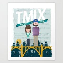 TMix Poster Art Print