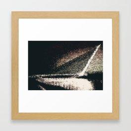 Infra exposure Framed Art Print