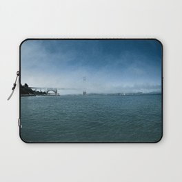 Golden Gate Bridge + Fog Laptop Sleeve
