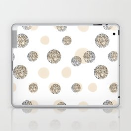 POIS CHIC WHITE Laptop & iPad Skin