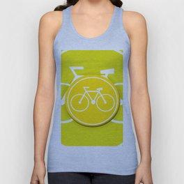 Lemon Bicycle Icon Unisex Tank Top