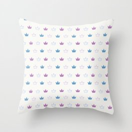 crowns (3) Throw Pillow
