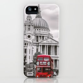 London Classic Bus iPhone Case